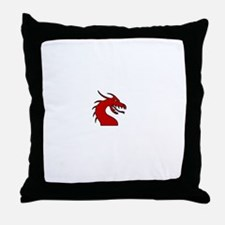 Tickle The Dragon Throw Pillow