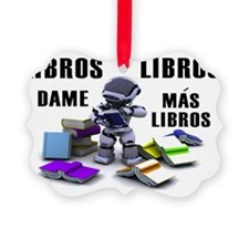Libros ROBOT SIGN Ornament
