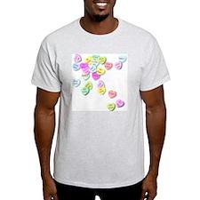 Conversation Hearts T Shirt T-Shirt