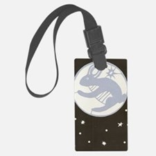 The Rabbit in the Moon Luggage Tag