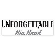 Unforgettable Big Band 1 Bumper Sticker