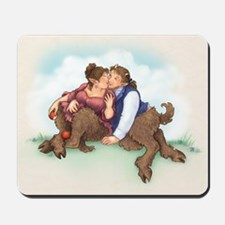 Satyrs and Apples - Mousepad
