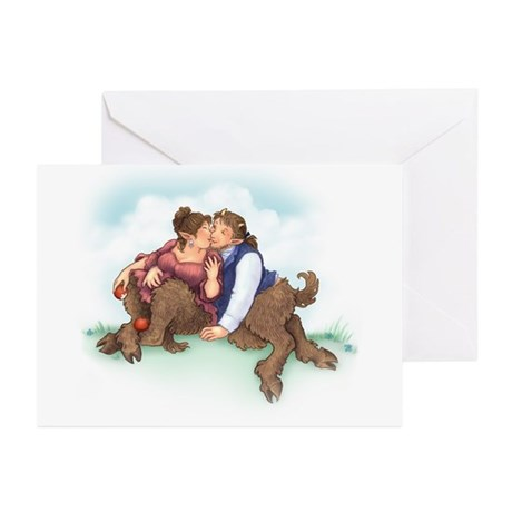 Satyrs and Apples Greeting Cards (Pk of 10)