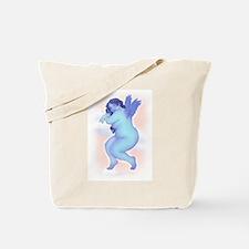 Blue Angel / Pink Dancer - Tote Bag