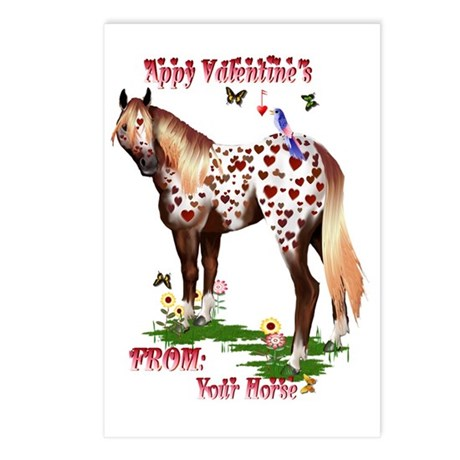 Appy Valentines Postcards (Package of 8)