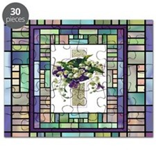 Stained Glass Cross Puzzle