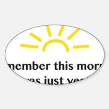 I remember Decal