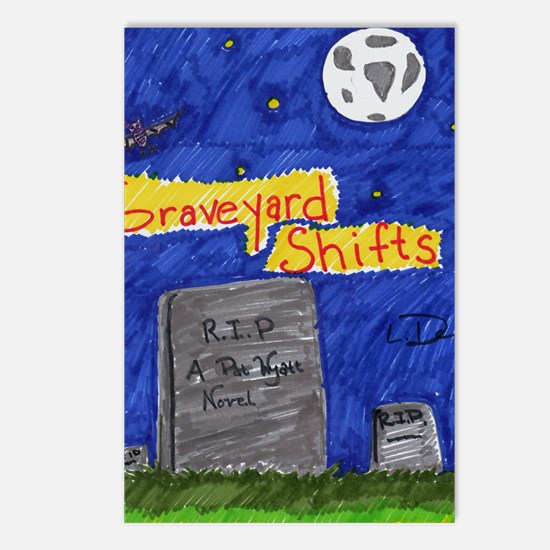Graveyard Shifts Postcards (Package of 8)