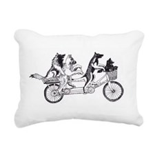 Belgian Bike Rectangular Canvas Pillow