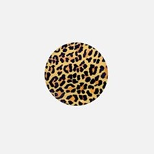 Cheetah Print Mini Button