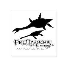 """ptm plesiosaurus Square Sticker 3"""" x 3"""""""