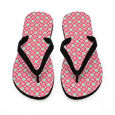 piggy dots Flip Flops