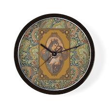 Queen of Heaven Wall Clock