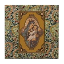 Queen of Heaven Tile Coaster