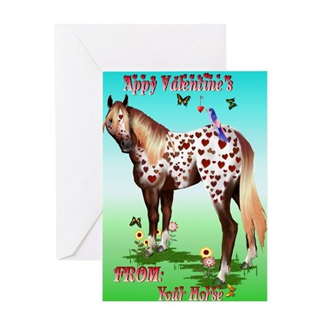 Appy Valentines Greeting Card