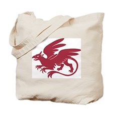 Red/Green Griffin - Tote Bag