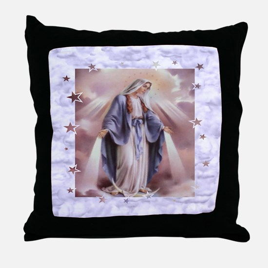 Ave Maria Throw Pillow