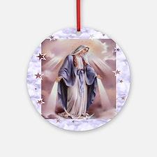 Ave Maria Round Ornament