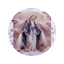 """Ave Maria 3.5"""" Button"""