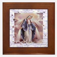 Ave Maria Framed Tile