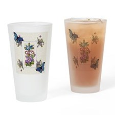 Violet Redemption Drinking Glass