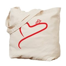Love Cycling Tote Bag