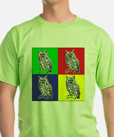 Owl In Color T-Shirt