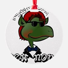 Straight Outta Yew Nork Shades Ornament