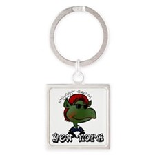 Straight Outta Yew Nork Shades Square Keychain
