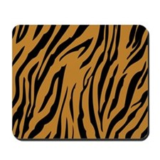 Tiger Print Mousepad