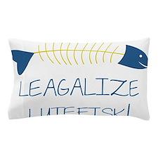 Legalize Lutefisk Fish Pillow Case