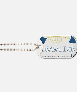 Legalize Lutefisk Fish Dog Tags
