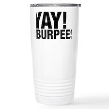 Yay Burpees Travel Mug