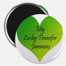 Lucky Transfer Jammies Surrogacy Magnet