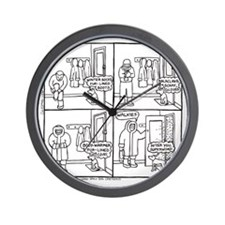 Superwimp Wall Clock