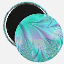Aqua shower curtain Magnet