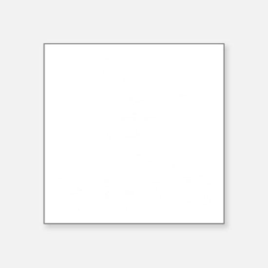 "Class Of 2013 Ski Square Sticker 3"" x 3"""