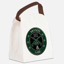 Come and Take It Crossed Rifles Canvas Lunch Bag