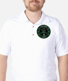 Come and Take It Crossed Rifles Golf Shirt
