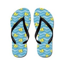 Rubber Ducks Flip Flops