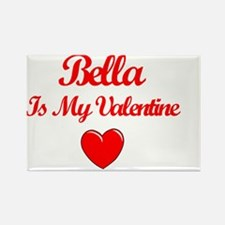 Bella Valentine Rectangle Magnet
