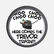 Trevor Train Wall Clock