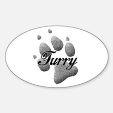 Furry Decal