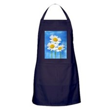 Daisy Wildflower Apron (dark)