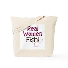 Real Women Fish Tote Bag