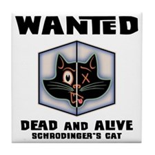 schrodingers-cat-LTT Tile Coaster