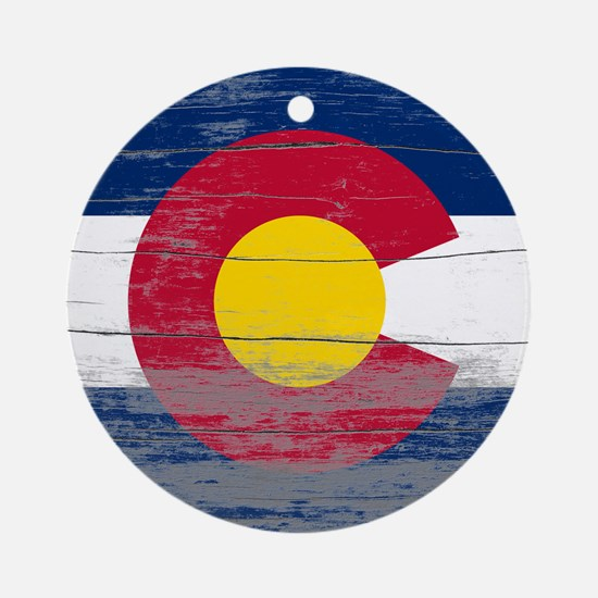 Colorado Old Paint Ornament (Round)