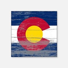 "Colorado Old Paint Square Sticker 3"" x 3"""