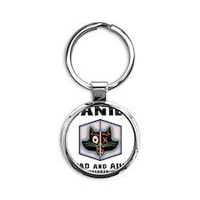 schrodingers-cat-LTT Round Keychain