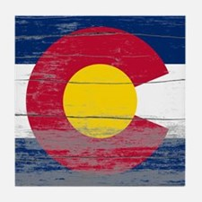 Colorado Old Paint Tile Coaster